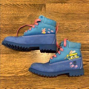 Timberland Sponge Bob Squarepants boots, 7